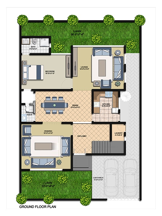 Villa 250 Ground Floor One Unit